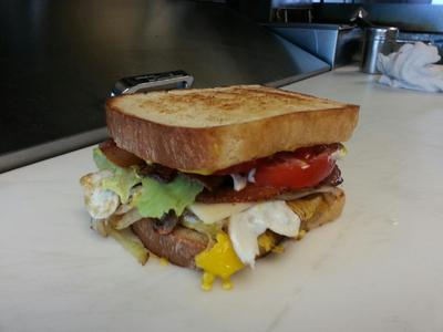 BLT with an egg!