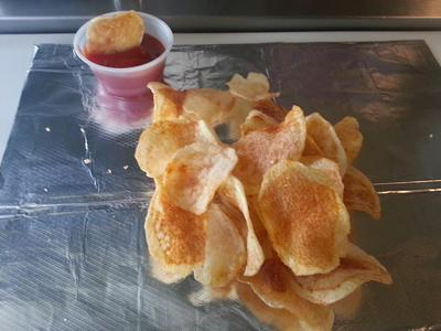 Fresh kettle chips
